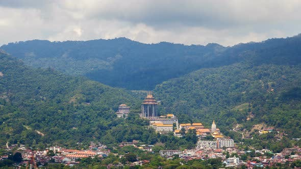 Thumbnail for Penang Buddha Temple Timelapse In Malaysia At Day