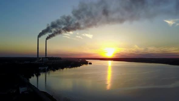 Umweltverschmutzung durch die Anlage
