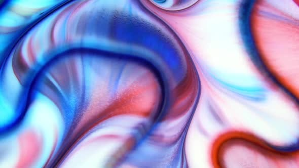 Thumbnail for Psychedelic Galactic Paint Texture Background 71