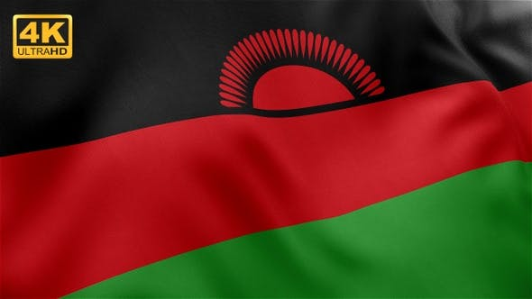 Thumbnail for Flag of Malawi - 4K