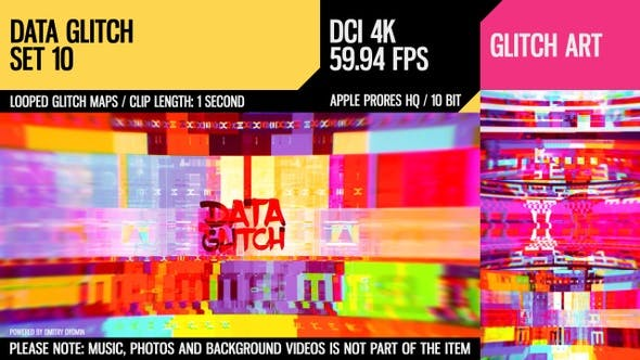 Thumbnail for Data Glitch (4K Set 10)