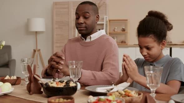 Starting Dinner After Prayer