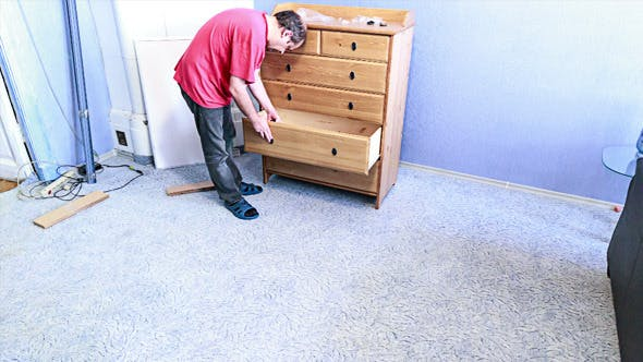 Thumbnail for Man Doing Assembly Furniture
