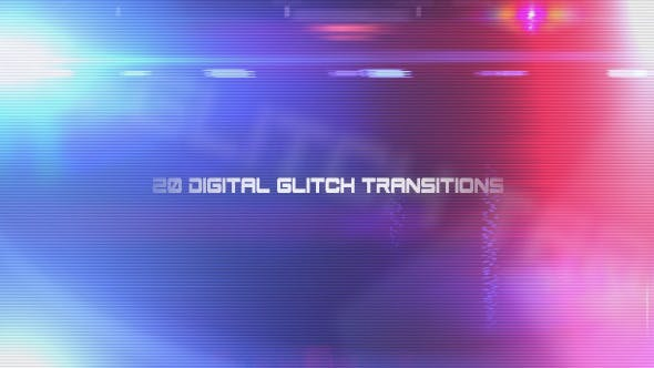 Thumbnail for 20 Digital Glitch Transitions