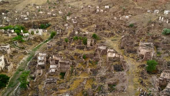 Cover Image for Aerial View Of Ruins In A City