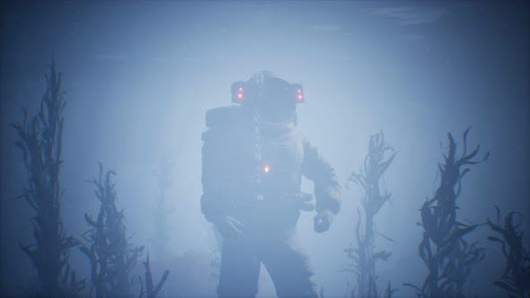 Thumbnail for Spaceman Astronaut in the Sea
