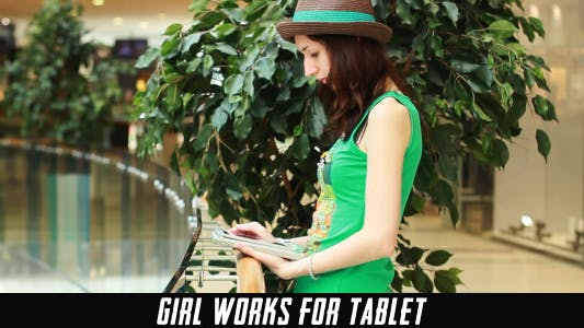 Thumbnail for Girl Works For Tablet 10