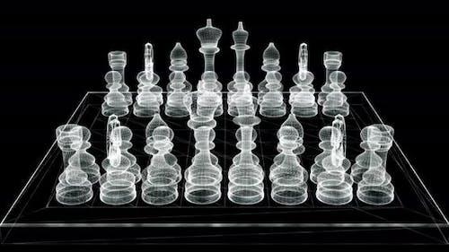 Chessboard Hologram
