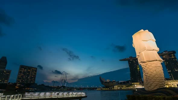 Cover Image for Merlion Singapore City