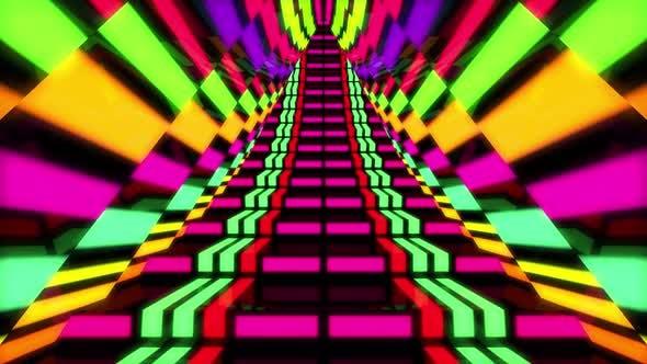 Thumbnail for 4 K Neon Stairway
