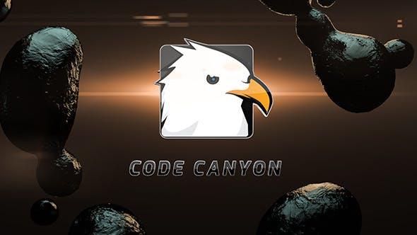 Dark Fluid Logo Reveal