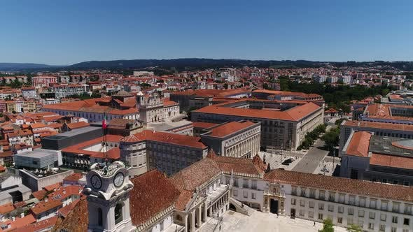 Thumbnail for Flying Over Historical Center of Coimbra, Portugal
