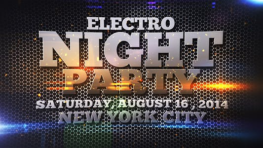 Thumbnail for Electro Night Party