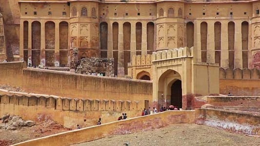 Thumbnail for View Of Amber Fort In Jaipur India