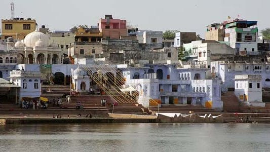 Thumbnail for View Of Pushkar, Rajasthan, India