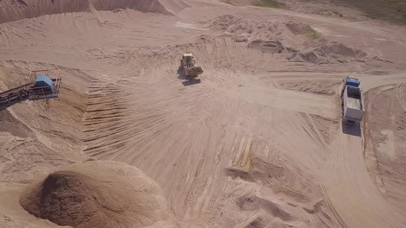 Thumbnail for Vehicles Working in Quarry