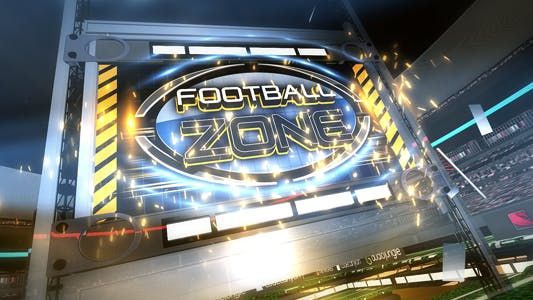 Thumbnail for Football Zone Broadcast Pack