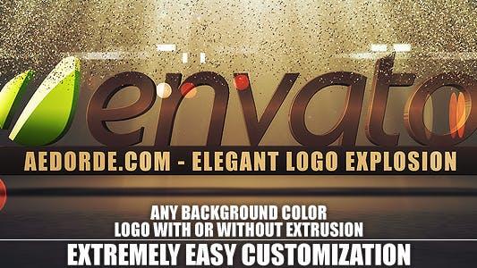 Thumbnail for Elegant Logo Explosion