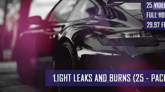 Light Leaks And Burns