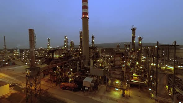 Thumbnail for Oil Refinery Gas Power Plant Factory Station
