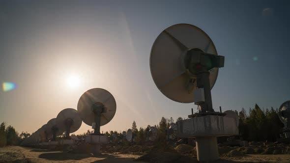 20 March 2021 Radioastrophysical Observatory of Badary Buryatia Russia