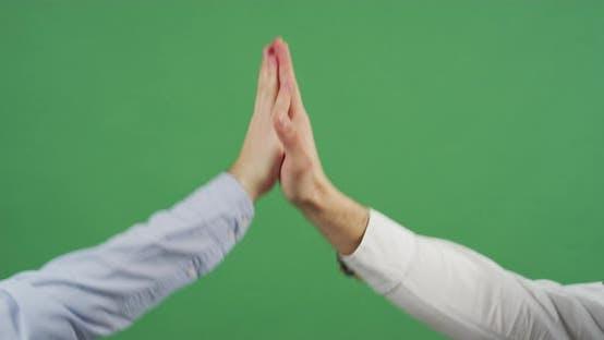 High five gesture