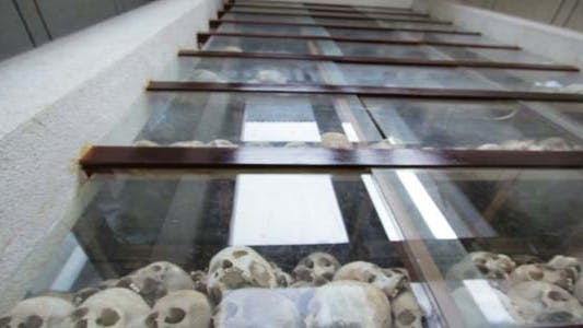 Thumbnail for Skulls And Bones In Killing Field, Cambodia