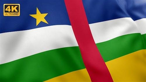 Central African Republic Flag - 4K