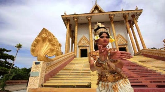 Thumbnail for Apsara Dancer Beautiful Female Asian Mythology