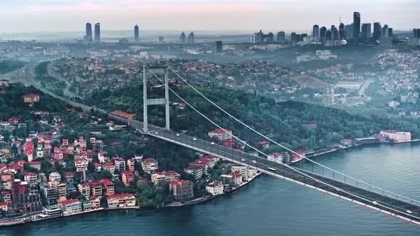 Thumbnail for Paysage d'Istanbul d'en haut