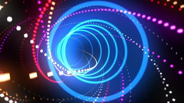 Thumbnail for Neon Light VJ Loop 4K 01
