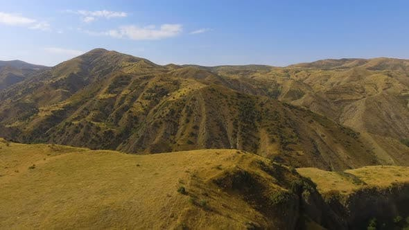 Thumbnail for 360-Grad-Ansicht des kleinen Bergdorfes Halidzor, Provinz Syunik von Armenien