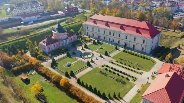 Thumbnail for Aerial View Drone Video of Zolochiv Castle in Lviv Region, Ukraine