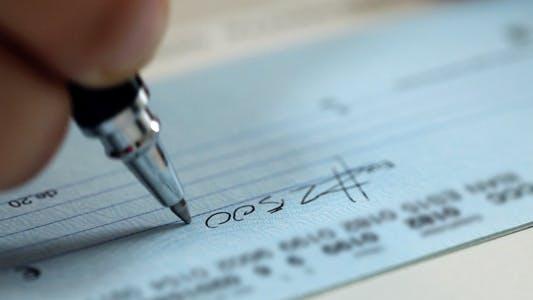 Thumbnail for Writing A Check