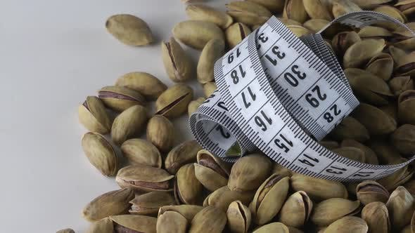 Cover Image for Roasted Pistachio  And Tape Measure Turning