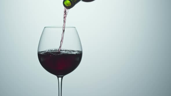 Thumbnail for Pouring Red Wine into Glass