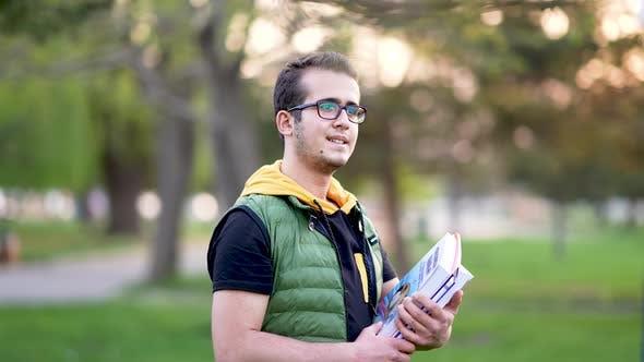 University Students Go To School