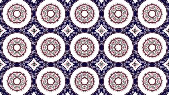 Abstract Balkan Traditional Patterns