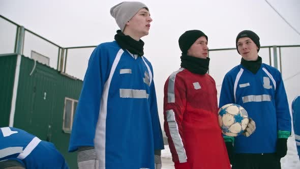 Thumbnail for Teenagers Preparing for Winter Soccer