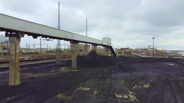 A Large Coal Loading Station