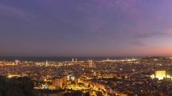 Timelapse Barcelona