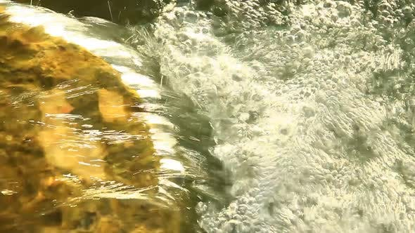 Thumbnail for Water Splashing Into Small Pond