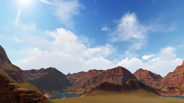 Thumbnail for Mountain panorama in the morning