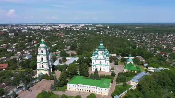 Thumbnail for Trinity Monastery in Chernigiv Ukraine in the Summer
