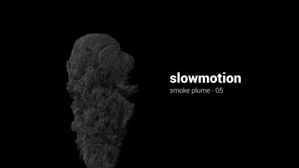 Thumbnail for Slowmotion Smoke Plume - 05
