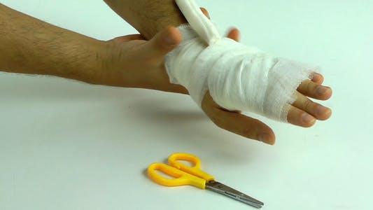 Thumbnail for Handgelenkbandage