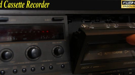 Old Cassette Recorder