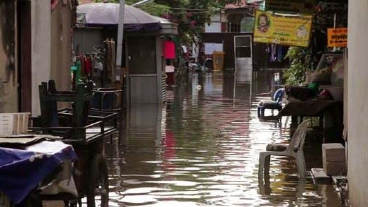 Thumbnail for Straße unter Flut
