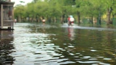 Street Under Flood