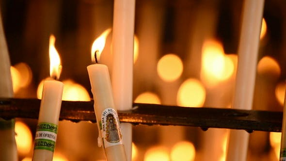 Candles in Candlestick